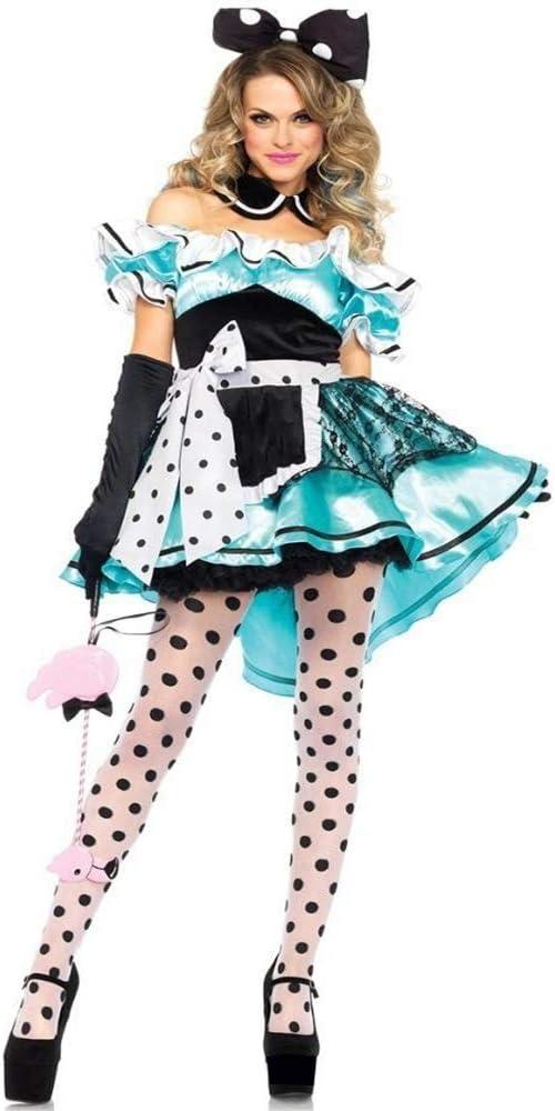 Ambiguity Disfraz de Halloween Mujer Flor Verde Hada Elfo Verde de ...