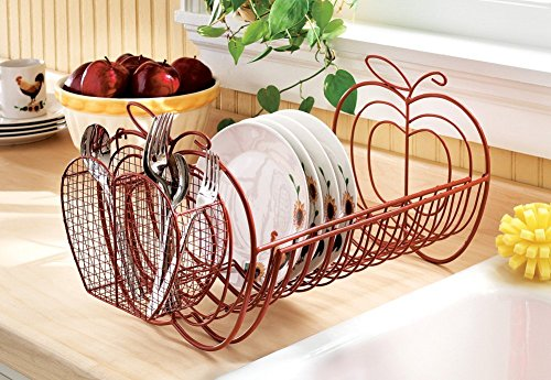 Amazon.com - Apple Decor Expandable Dish Rack - Apple Kitchen