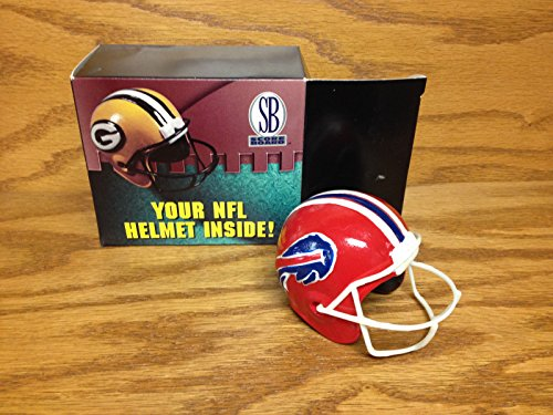 BUFFALO BILLS Team NFL Hand Painted Ceramic Mini Helmet