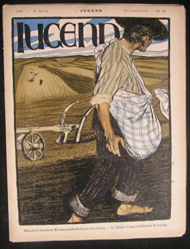 (Jugend magazine 1899 issue 13 Jugendstil art Neumann Diez bookplates Frenz)