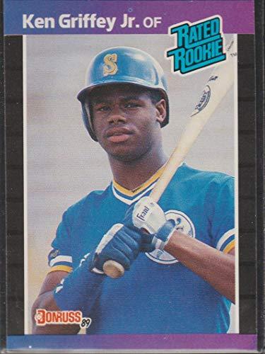 1989 Donruss Ken Griffey Jr. Mariners Rookie Baseball Card #33 ()