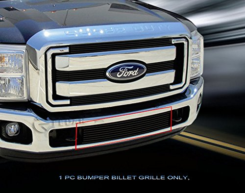 Fedar Lower Bumper Billet Grille Insert for 2011-2016 Ford F-250/F-350/F-450/F-550 XLT/Lariat/King Ranch (Bumper F250 Billet Grille)