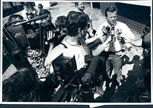 Historic Images - 1996 Vintage Press Photo Thoroughbred Horse Racing Cigar Trainer Bill Mott - snb8425