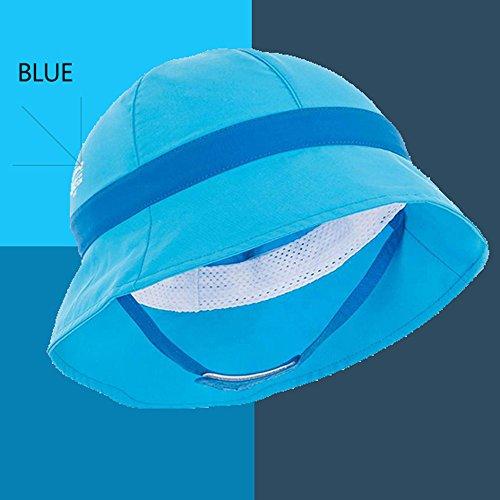 Hat può anni Visor 2 portare Dry Beach Sun Uv 18 Red Xqqq Quick Protection Baby Pvq55w
