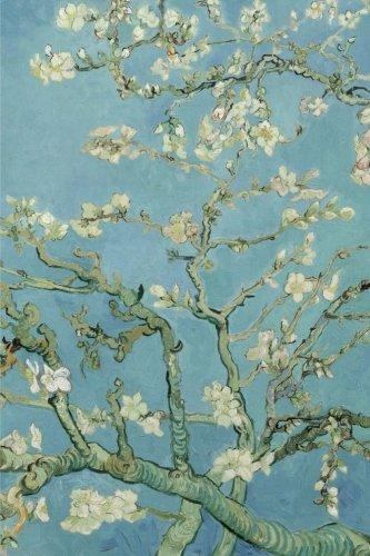 Amandier en fleurs, van Gogh: Carnet ligne, 160 pages, dimensions: 15.24 x 22.86 cm, Feuillete (French Edition) ()