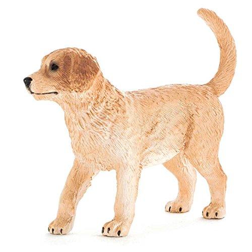 MOJO Fun 387205 Golden Retriever Puppy - Realistic Family Dog Breed Toy (Golden Retriever Dog Figurine)