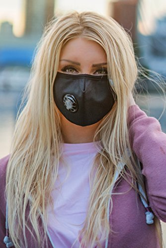 Easy Breathe Pollution Mask Ultra Soft Cotton Adjustable & Reusable With Four N99 Mask Replacement Filters | Anti Pollution N99 Filter Respirator Mouth & Face Mask For Men & Women by Keklle (Image #6)