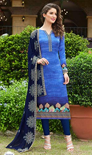 Formale Salwar Stampato Abbigliamento Indian Designer Kurti Kameez Donna 7413 Pajami UB5qx