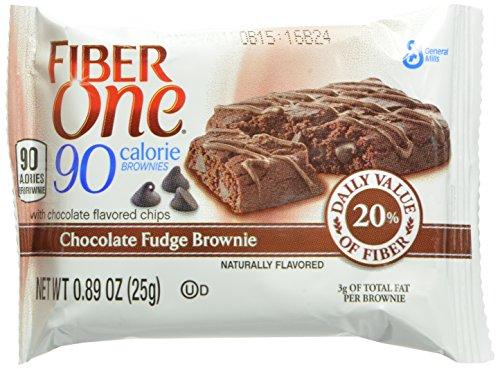 Fiber One 90 Calorie Chocolate Fudge Brownies.89 oz, 24 Count