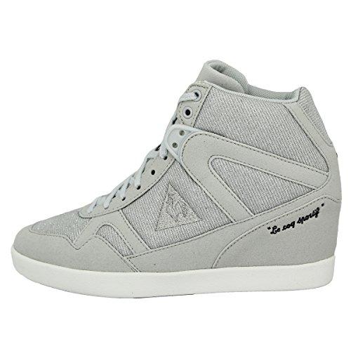 Neu Segur Sneakers Damen Le Schuhe Suede Sportif Syn Coq Glitter Grau Fgwq7vBx
