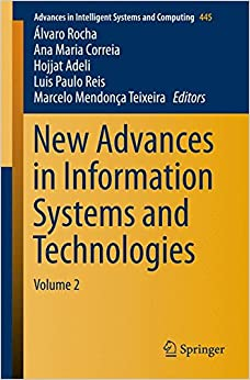 Book New Advances in Information Systems and Technologies: Volume 2 (Advances in Intelligent Systems and Computing)