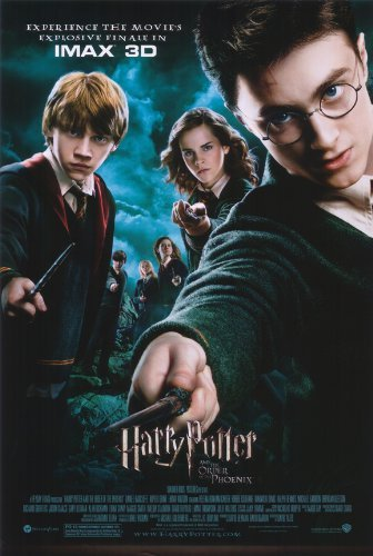 Click for larger image of Harry Potter and the Order of the Phoenix 36 x 24 Movie Poster
