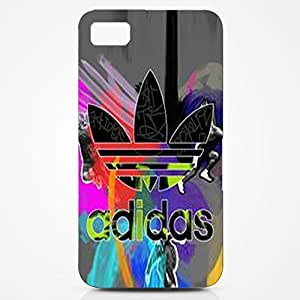 Best Design 3D vintage design hard case Adidas case cover for blackberry z10_blue/red