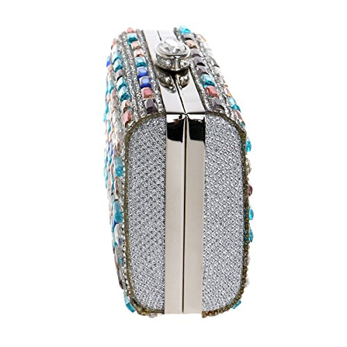 Wedding Bags Women's Clutches For Party And Evening Colorful Crystal Women Bridal wwF0pq