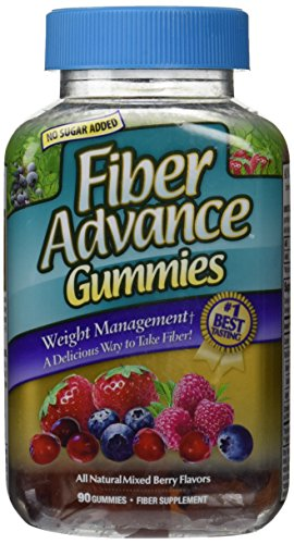 FiberAdvance Weight Management Gummies, 90Count ()