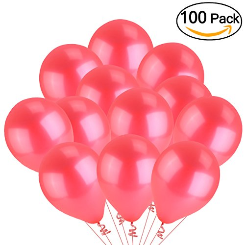 Tinksky Latex Metallic Balloons Pack