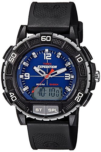 Timex Expedition Double Shock Combo Watch - Blue/Black by Timex