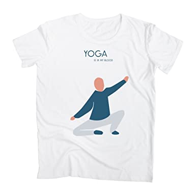 Yoga Is In My Blood 2 Camiseta para Hombre: Amazon.es: Ropa ...