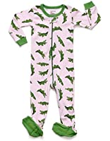 Leveret Baby Girls 2015 Footed Sleeper Pajama 100% Cotton (Size 6M-5 Years)