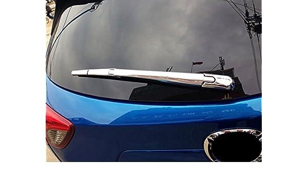 ABS Chrome trasera Back ventana limpiaparabrisas de coche 4 piezas para CX5 CX-5 segunda generación 2017 2018: Amazon.es: Coche y moto