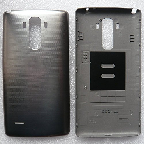 LG G Stylo LS770 [Sprint] and LG G Stylo H631 [T-Mobile] Battery Door [OEM] LGSTYLODR (A), Black (Bulk Packaging)