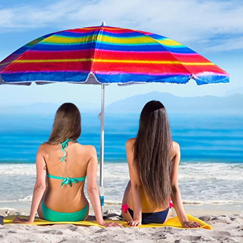 Beach Umbrella Sand Anchor – Universal Fit – Safe, Strong Wind Protection by Beach Titan (Image #3)