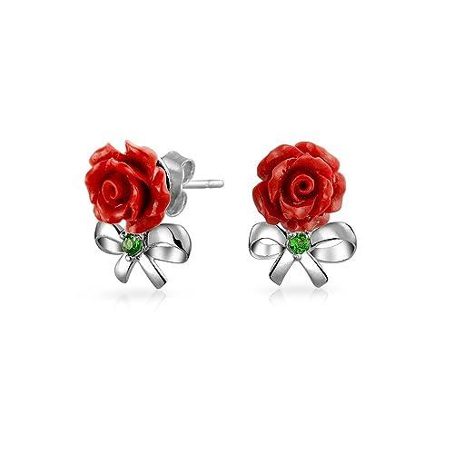 Bling Bijoux Argent 925 Rose Rhodium Anneau De Résine Rouge Cz Plaqué Moderne bCoHB