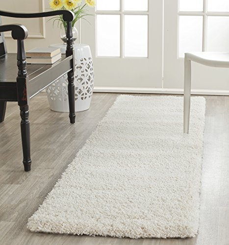 Safavieh Milan Shag Collection SG180-1212 Ivory Area Rug (2' x 4')