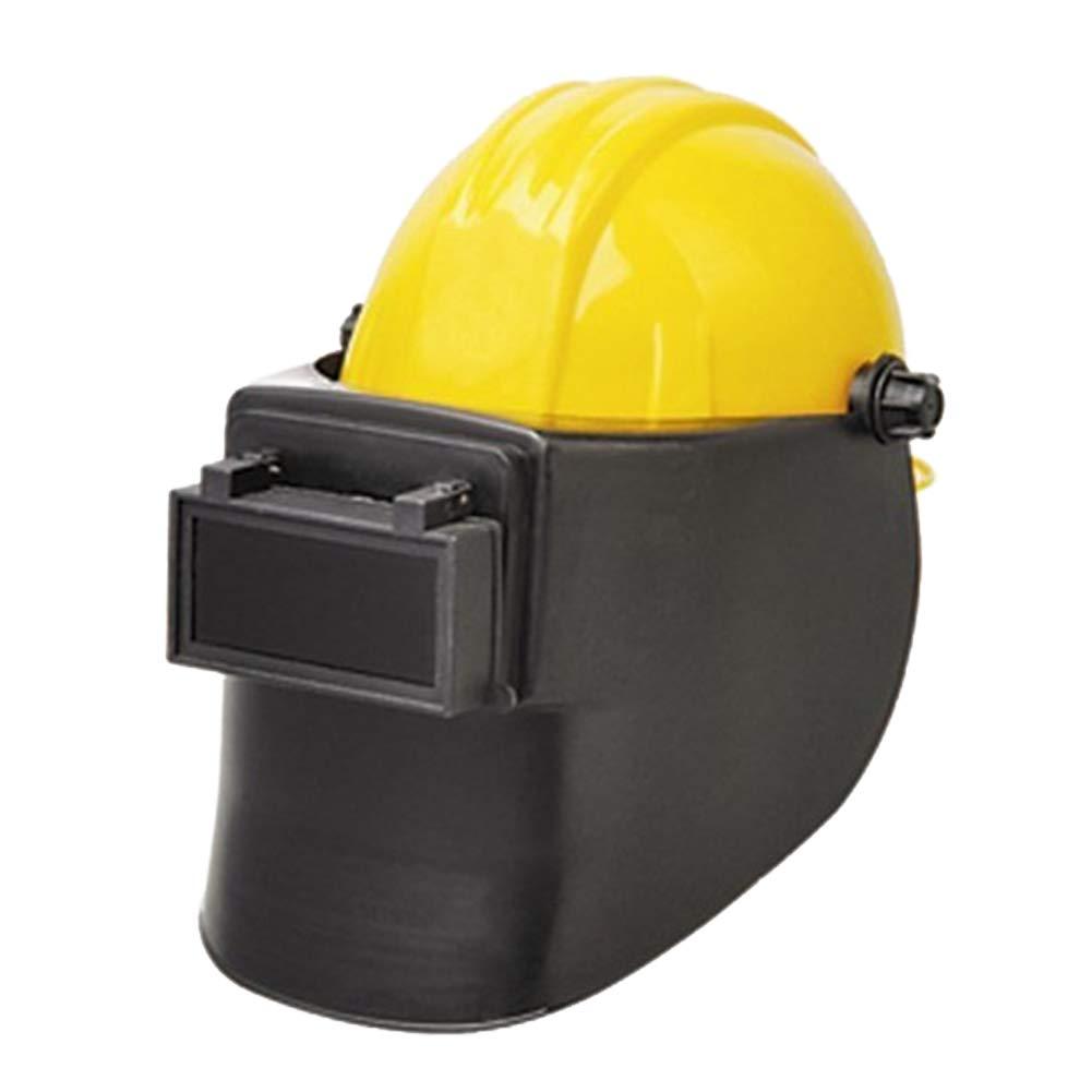 Electric Welding Helmet Mask Safety Headgear Face Shield Welder Hood Mask Face Shield Work Full Face Protector (Black) Hilai