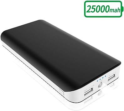 Batería Externa 25000mAh, Cargador Portátil Movil Alta Capacidad ...