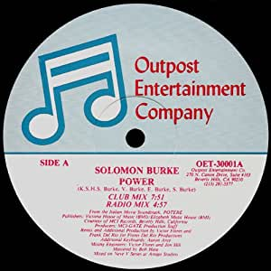 Solomon Burke Power Amazon Com Music