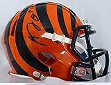 AJ Green Autographed Cincinnati Bengals Speed Mini Helmet - Beckett COA