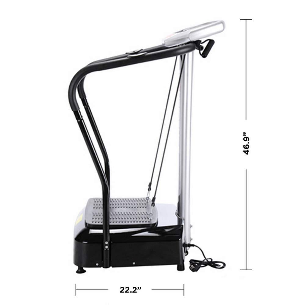 Confidence Fitness Slim Full Body Vibration Platform Fitness Machine, Black by Confidence (Image #7)
