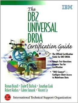 Db2 Universal Drda Certification Guide The Roman Brandl