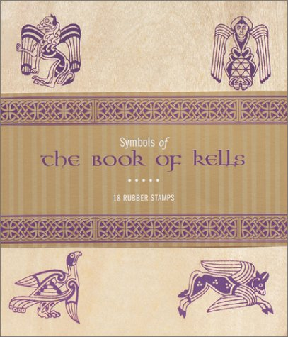 Symbols of the Book of Kells: 18 Wood Mounted Rubber Stamps