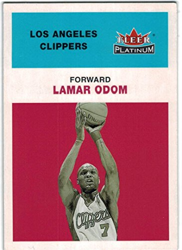 - 2001-02 Fleer Platinum Los Angeles Clippers Team Set with Elton Brand & Lamar Odom - 7 Cards