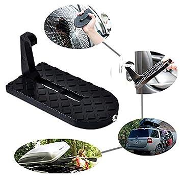 MIKKUPPA - Paso Plegable para Puerta de Coche, con Martillo de Seguridad, fácil Acceso para Coche, Jeep, SUV: Amazon.es: Coche y moto