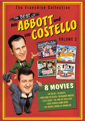 The Best of Abbott & Costello, Vol. 2 (Hit the Ice / In Society / Here Come the Co-Eds / The Naughty Nineties / Little Giant / The Time of Their Lives / Buck Privates Come Home / The Wistful Widow of Wagon Gap) by Universal Studios