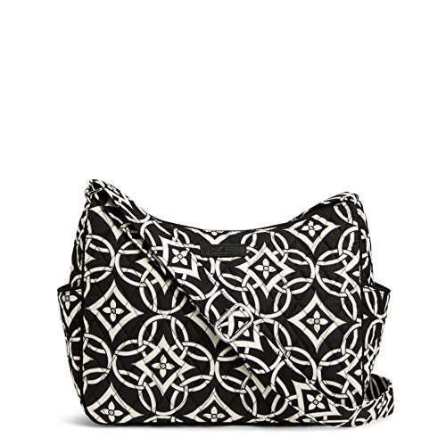 Vera Bradley The Go Cross Body Bag Concerto with Black Piping