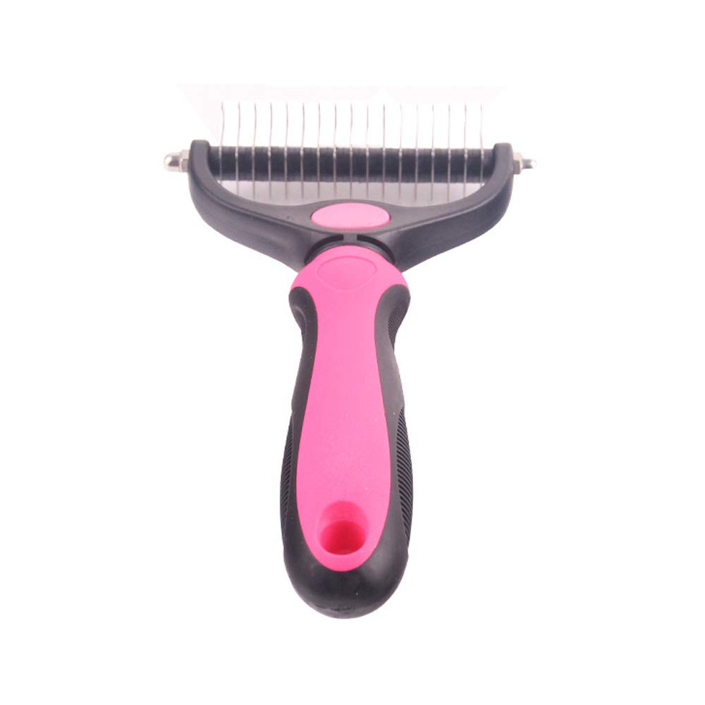 Large Pet Grooming Comb, Large Open Knot Comb Brush Hair Removal Tool Large Pet Dog Comb to Remove Floating Hair,L