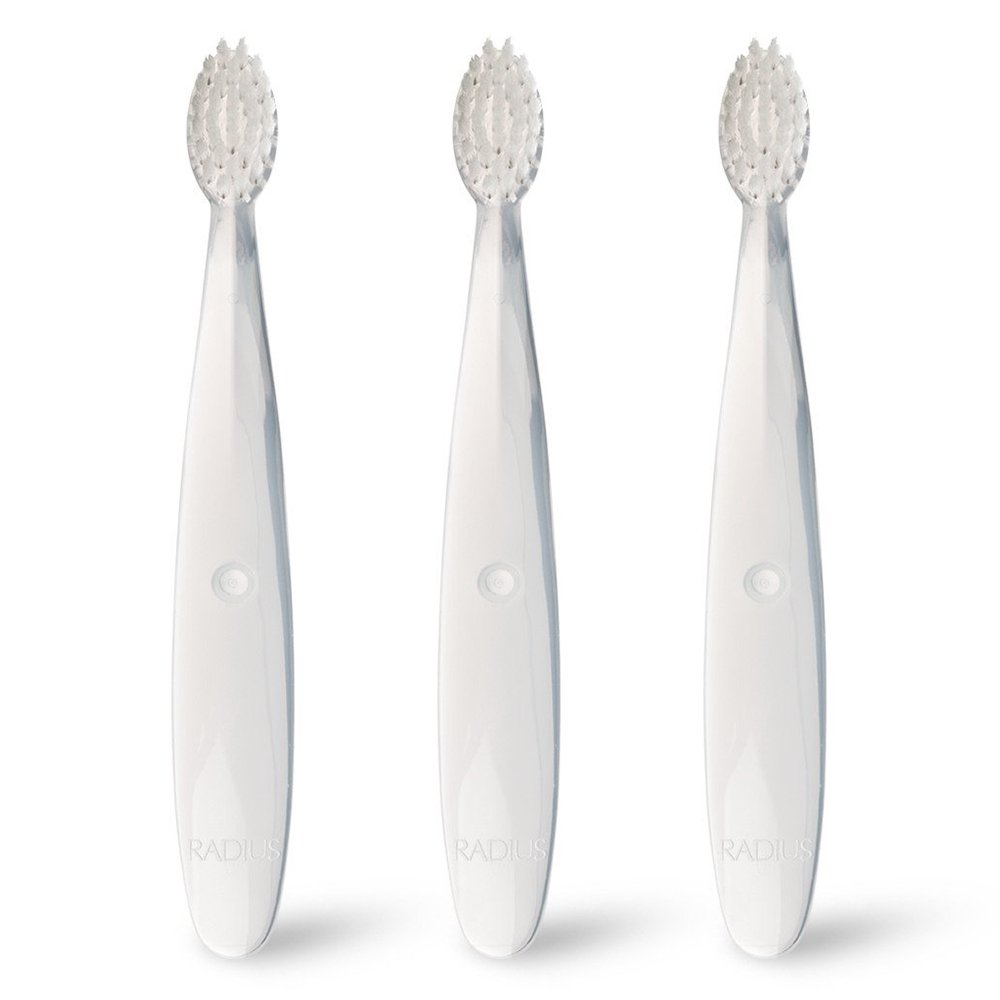 RADIUS Pure Baby Toothbrush Ultra Soft (6 - 18 months), 3 pack   B003KJBGGU