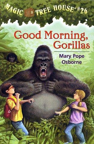 Good Morning, Gorillas - Book  of the Das magische Baumhaus