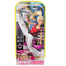 Barbie Made to Move The Ultimate Posable Martial Artist Doll
