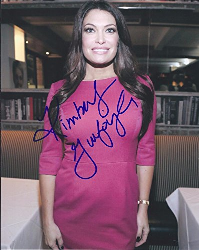 Kimberly Guilfoyle Signed Autographed 8x10 Photo Fox News The Five Host 2
