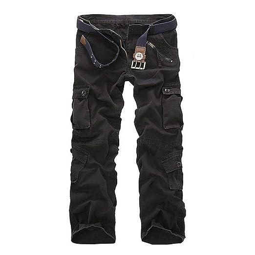 Lefuku Pantalones De CháNdal De Los Hombres, Pantalones Casuales ...