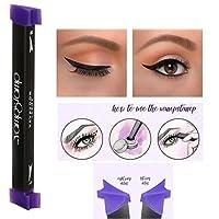 Zeuxs Eyeliner Stamp Seal Eyeliner liquide avec brosse de maquillage Ensemble Utilisation facile