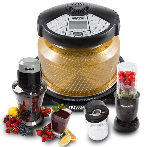 NuWave Elite Oven Special Offer Now Includes The NuWave Party Mixer and NuWave Twister Too! Just In Time For Your Spring Parties! NuWave