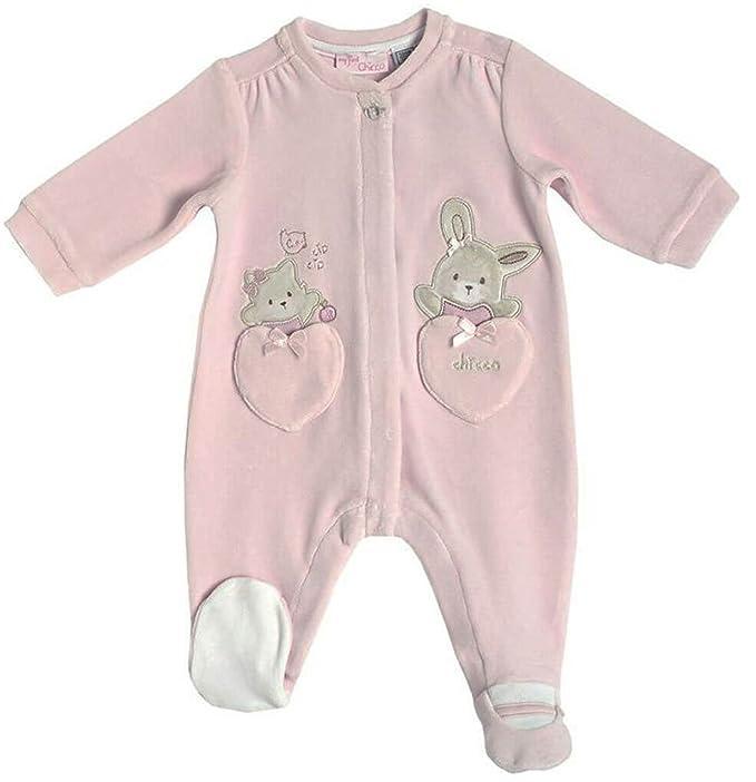 Chicco - Pelele - Básico - para bebé niña rosa 44: Amazon.es: Ropa y accesorios