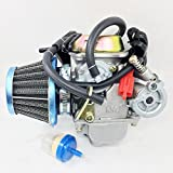 24MM CARBURETOR W/FILTER LANCE VINTAGE BAJA SC150 SC125 150CC GY6 150 SCOOTER