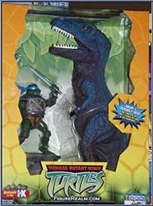Amazon Com Teenage Mutant Ninja Turtles Leonardo Vs T